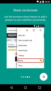 Price Alert for Amazon screenshot 3