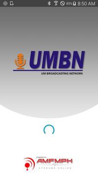 UMBN Radio poster