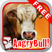 Angry Bull Free! icon