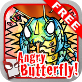 Angry Butterfly Free! icon