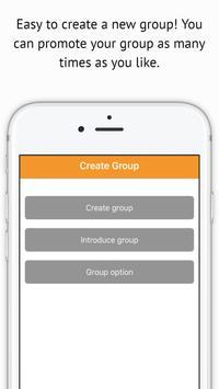 GROUPACK World Group chat app apk screenshot
