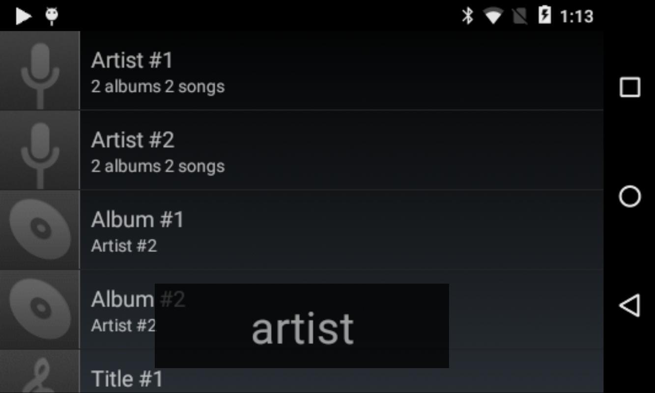 default music player apk no ads
