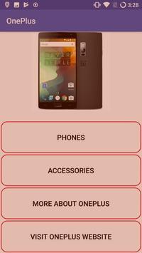 OnePlus Info screenshot 1