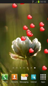 Love Hearts Live Wallpaper apk screenshot