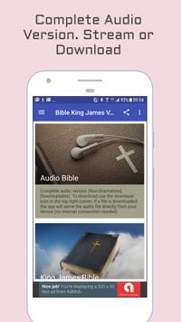 King James Bible - KJV Audio poster