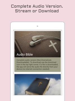 King James Bible - KJV Audio apk screenshot