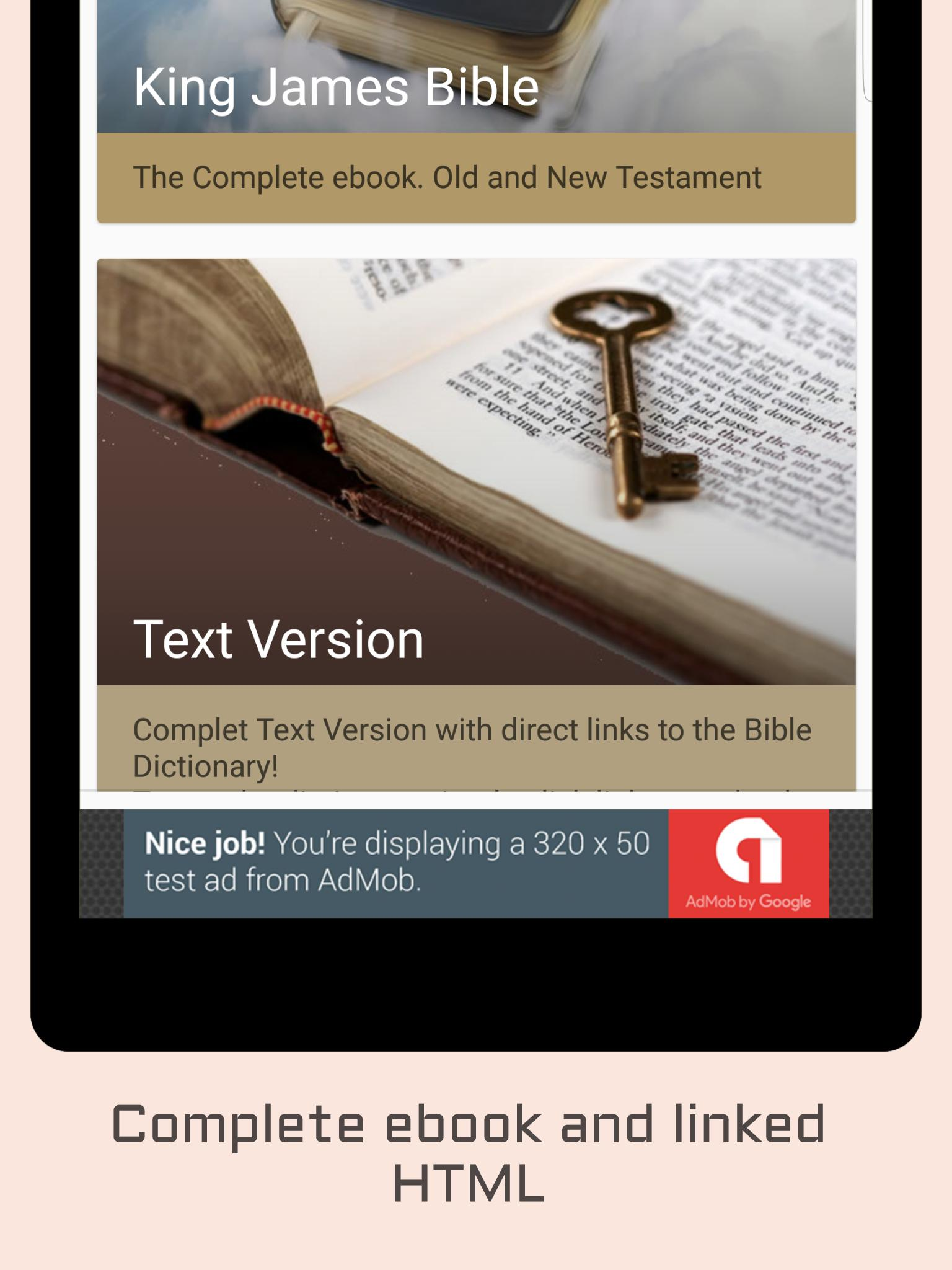King James Bible - KJV Audio for Android - APK Download