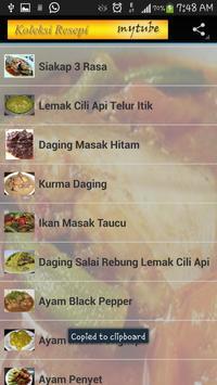Resepi Masakan Kelantan screenshot 2