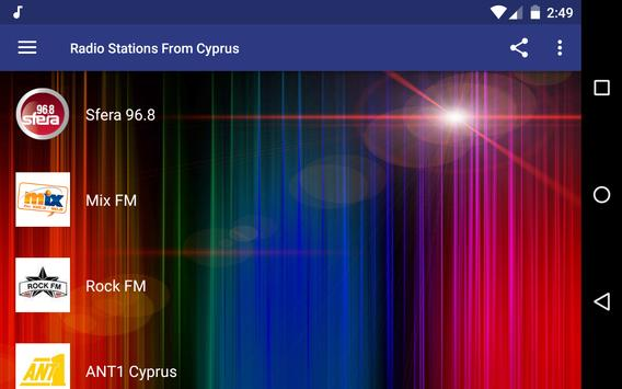 Radio Stations From Cyprus screenshot 5