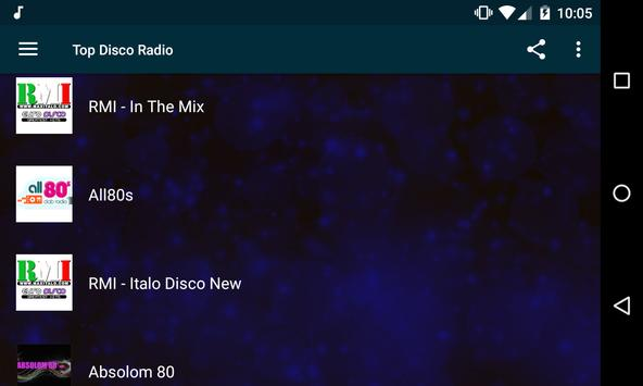 Top Disco Radio screenshot 8