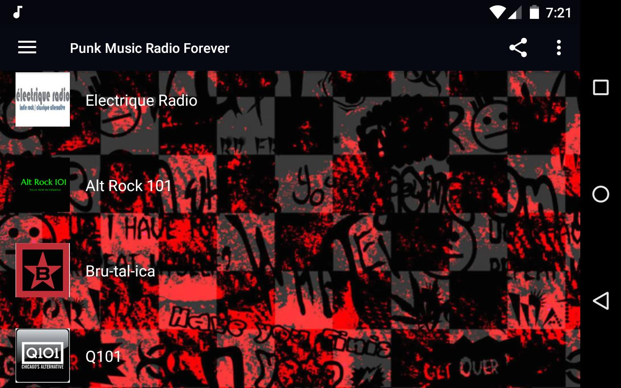 Punk Music Radio - Indie, Emo, Punk Rock for Android - APK