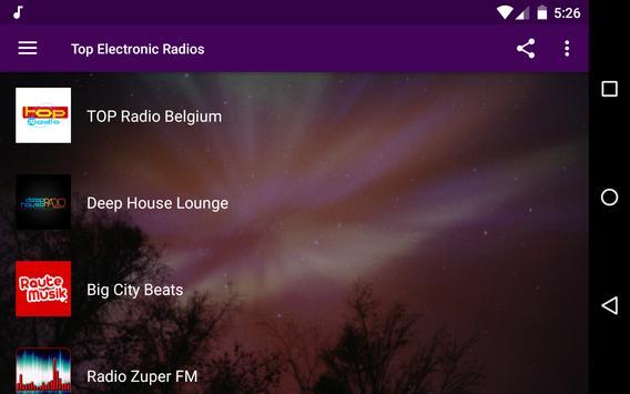 Electronic Radios apk screenshot