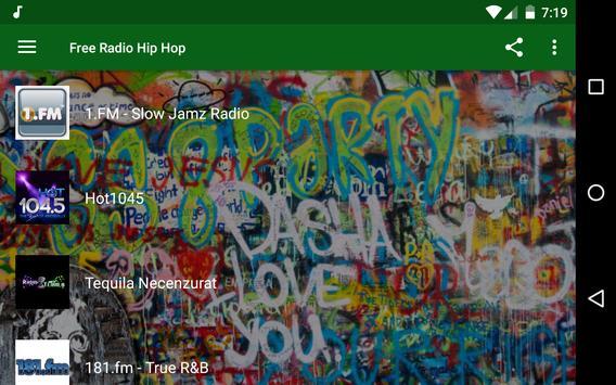 Free Radio Hip Hop apk screenshot