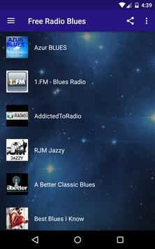 Free Radio Blues apk screenshot