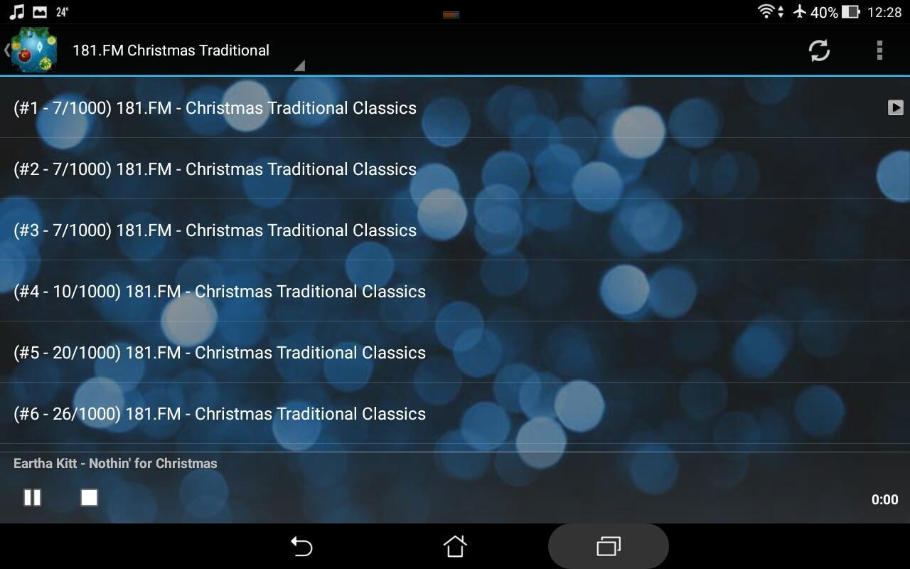 ... Christmas Music Radio - Noel 2018 & New Year 2019 screenshot 8 ...