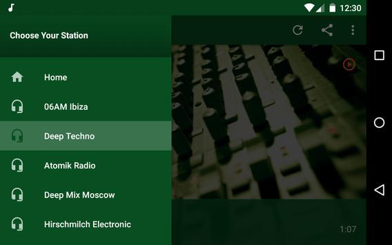 Techno Music Radio - IDM, Hardcore, Tech House screenshot 11