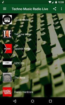 Techno Music Radio - IDM, Hardcore, Tech House screenshot 1
