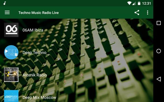 Techno Music Radio - IDM, Hardcore, Tech House screenshot 8