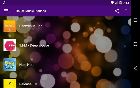 House Music Stations screenshot 4
