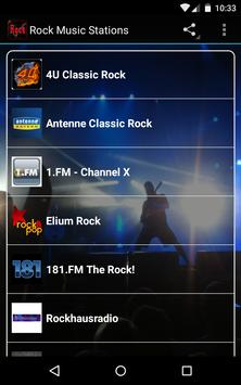 Rock Music Stations poster