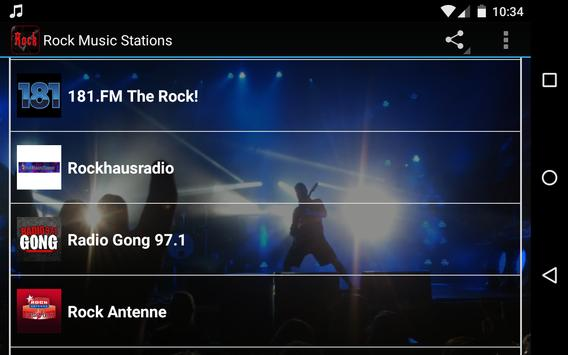 Rock Music Stations apk screenshot