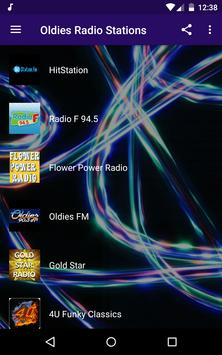 Oldies Radio Stations poster