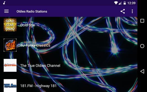 Oldies Radio Stations apk screenshot