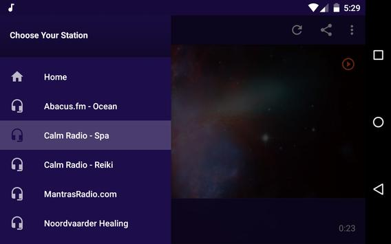 Meditation-Relax Radio apk screenshot