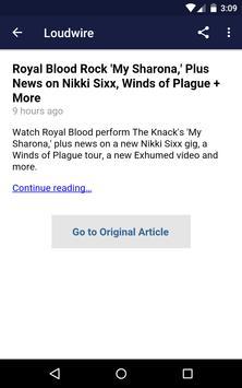 News Of Metal And Rock screenshot 3