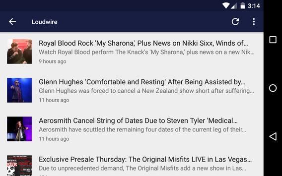 News Of Metal And Rock screenshot 12