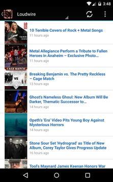 News Of Metal And Rock apk screenshot
