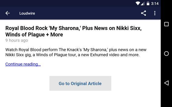 News Of Metal And Rock screenshot 8