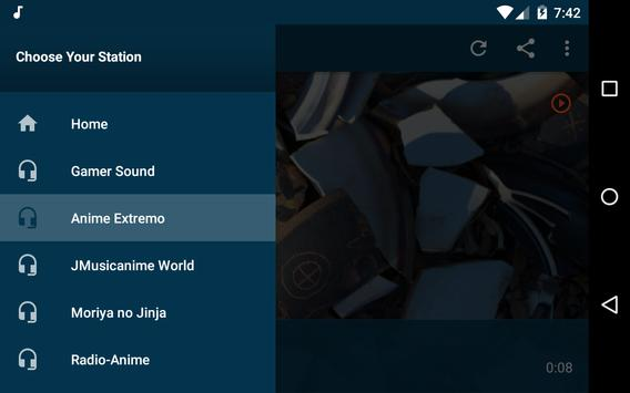 The Anime Channel - Radios Anime, J-Pop and K-Pop! screenshot 11