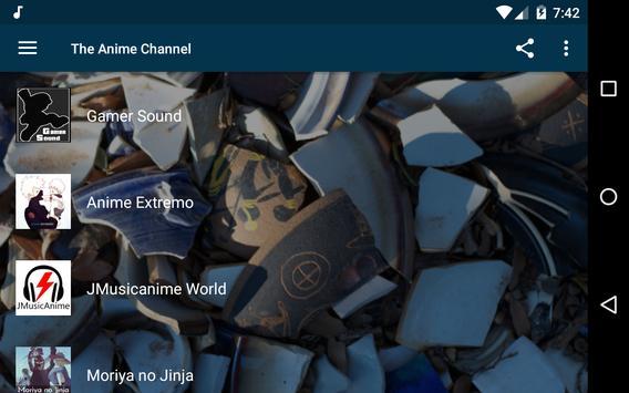 The Anime Channel - Radios Anime, J-Pop and K-Pop! screenshot 8