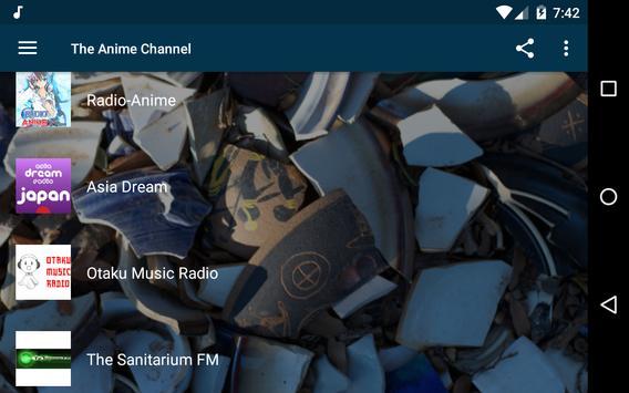 The Anime Channel - Radios Anime, J-Pop and K-Pop! screenshot 9