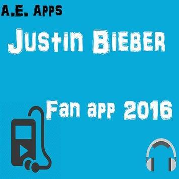 Justin Bieber Fan App poster