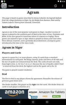Card Game Rules Lite apk screenshot