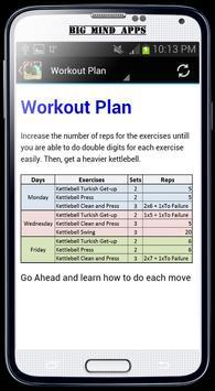 Kettlebell Workout apk screenshot