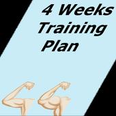 Exercise Plan 4 Weeks icon
