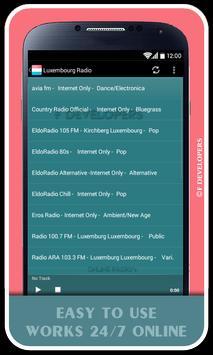 Luxembourg Radio apk screenshot