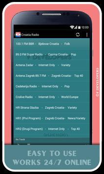 Croatia Radio apk screenshot