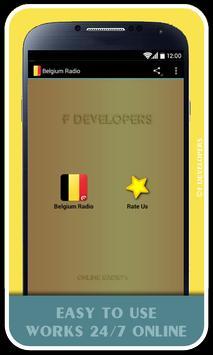 Belgium Radio poster