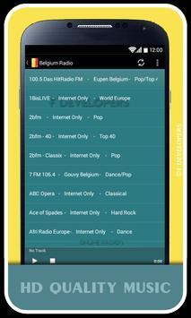 Belgium Radio screenshot 1