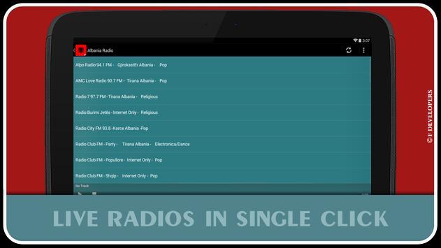 Albania Radio screenshot 3