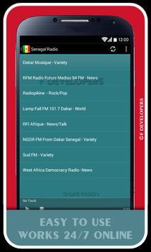 Senegal Radio screenshot 1