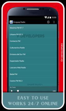 Uruguay Radio apk screenshot