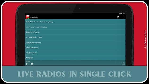 Oman Radio apk screenshot