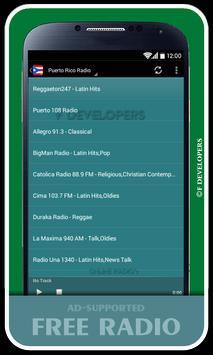 Puerto Rico Radio screenshot 1