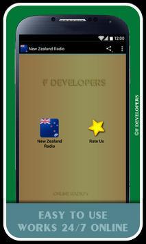 New Zealand Radio poster