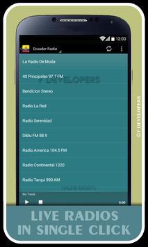 Ecuador Radio screenshot 1